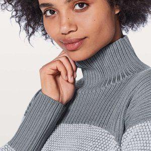 Lululemon Warm & Restore Sweater 100% Merino Wool